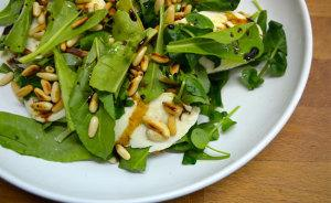 Baby Spinach & Mozzarella Salad