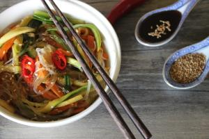 Vegetable Glass Noodles