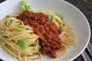 Bolognese Sauce with Hidden Veggies