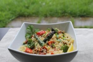 Couscous Salad with Vegetables & Herbs