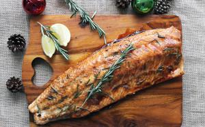 Molasses & Ginger Roasted Salmon