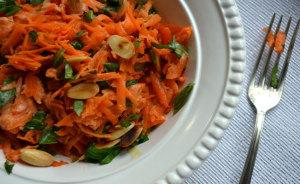 Shredded Carrot & Coriander Salad
