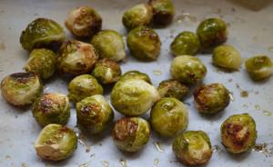 Yummy Roasted Brussels Sprouts