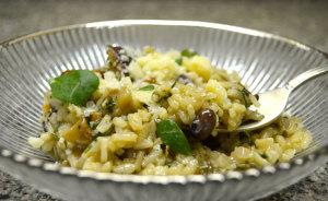 Everyday Mushroom Risotto