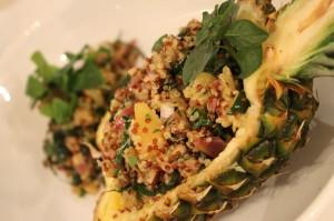 Pineapple Quinoa Salad