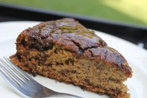 Banana & Date Whole-Wheat Cake