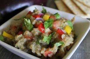Eat Your Rainbow: Eggplant Dip