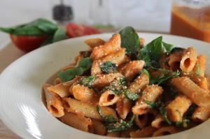 Tomatoey Pasta Sauce With Lots of Greens