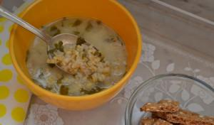 Light Yoghurt & Freekeh Soup