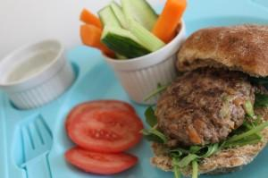 No-Junk Kids' Burger