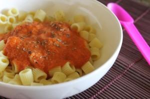 Kids Tomato Pasta Sauce with Secret Ingredients