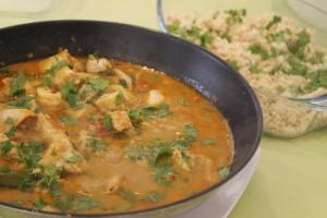 Creamy North Indian Fish Curry