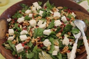 Fennel & Pomegranate Salad
