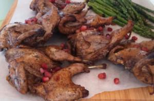 The Perfectly Roasted Quail