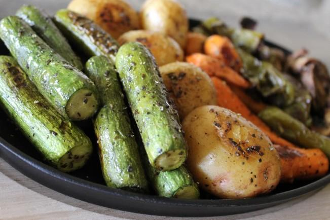 roasted vegetable platter1
