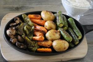 No-Recipe Roasted Vegetable Platter
