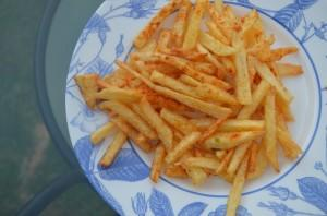 Crunchy French Fries with a Kick