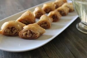 Rolled Walnut Baklava