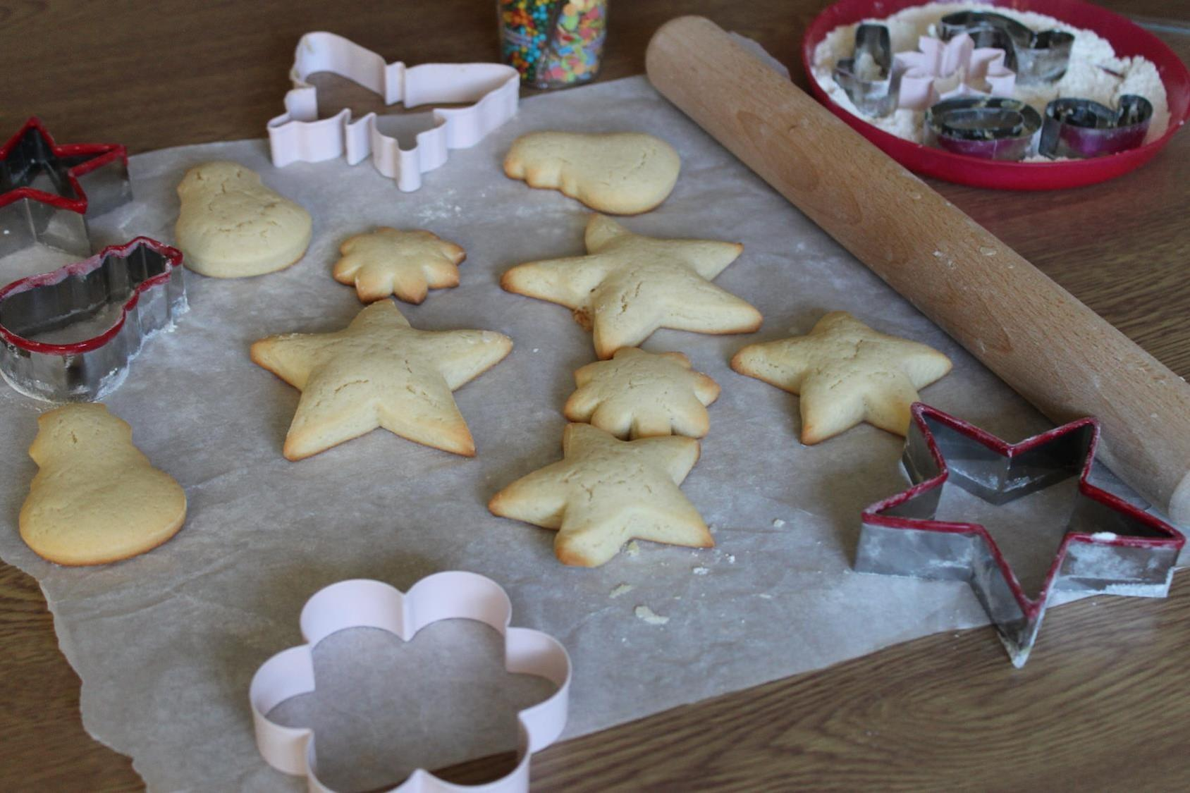 cut out cookies""