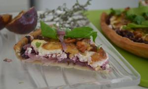 Figs & Goat Cheese Oregano Pie
