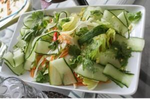 Fresh Coriander & Cucumber Salad