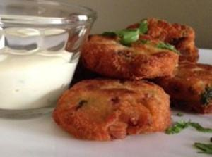 Fishcakes with Dijon-Mayo Capers Dipping Sauce
