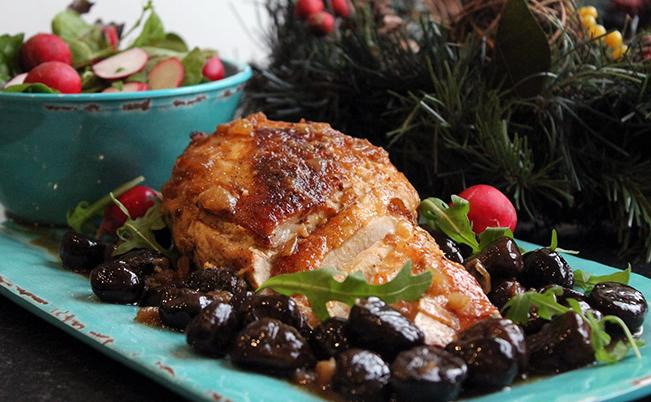 The Christmas Chestnut Turkey Breast Anyone Can Prepare