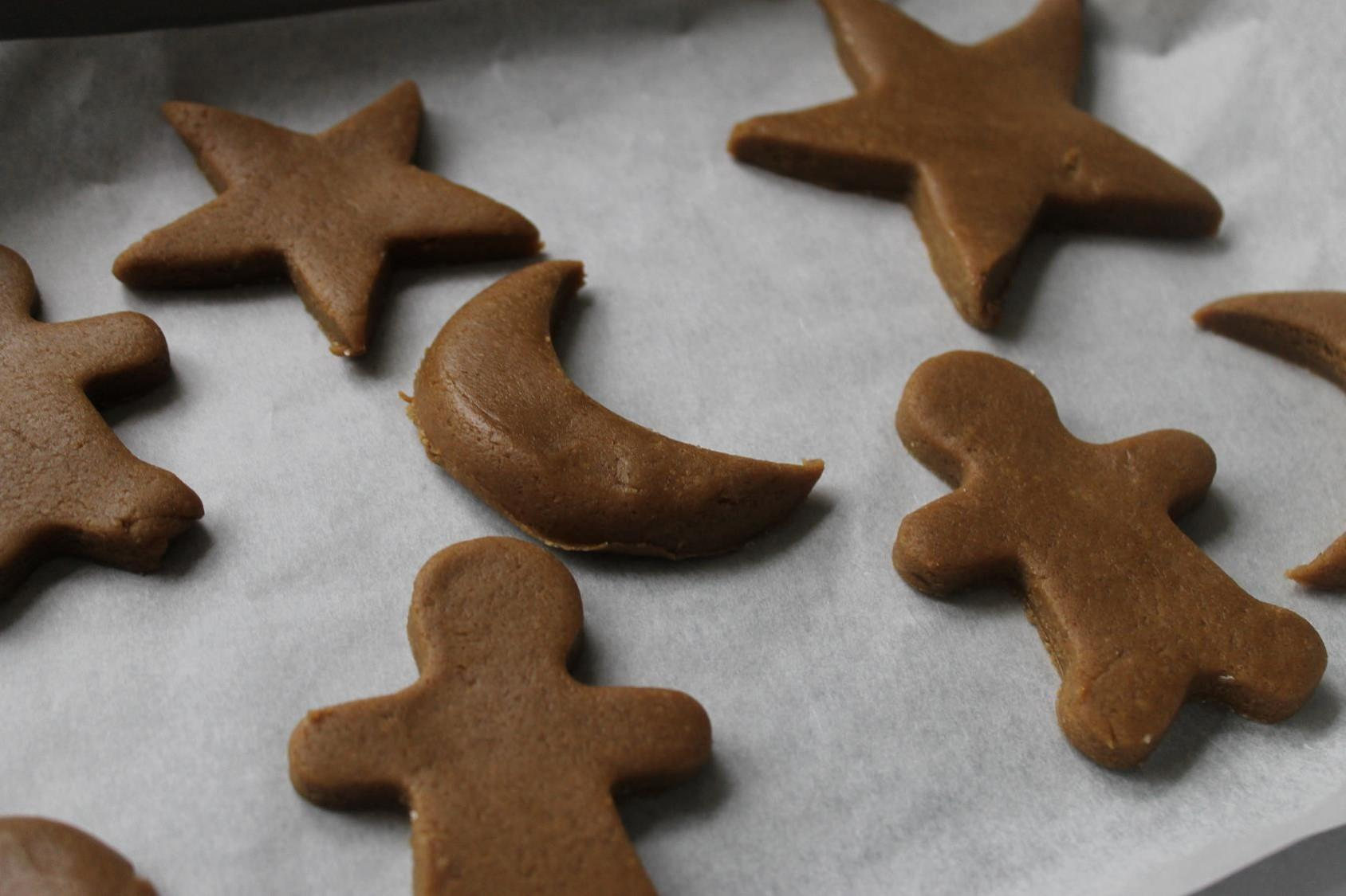 gingerbread men dough