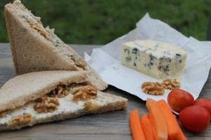 Blue Cheese & Walnut Sandwich