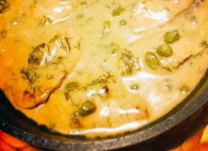 Chicken Fillets with Capers Sauce