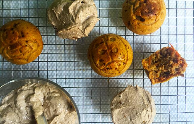 Hearty Sugar-Free Carrot Muffins