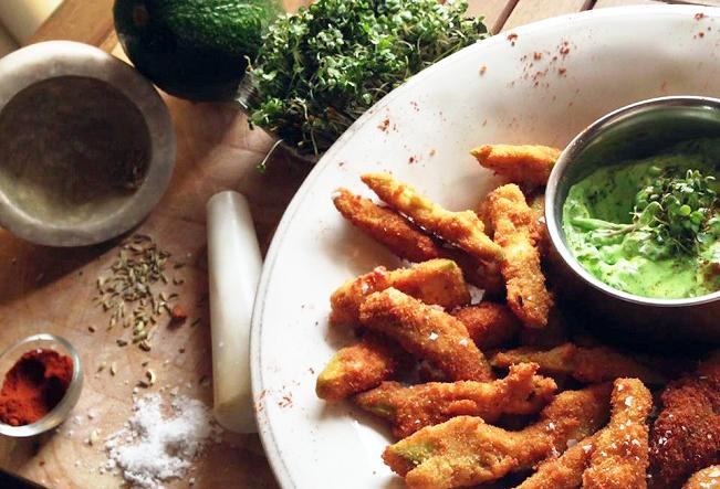 Crispy & Creamy Avocado Fries