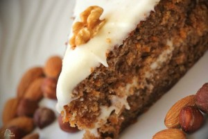 Delicious Low-Calorie Carrot Cake