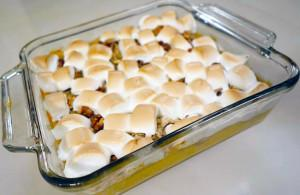 Sweet Potato & Marshmallow Casserole