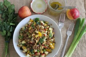 Lentils & Apple Salad