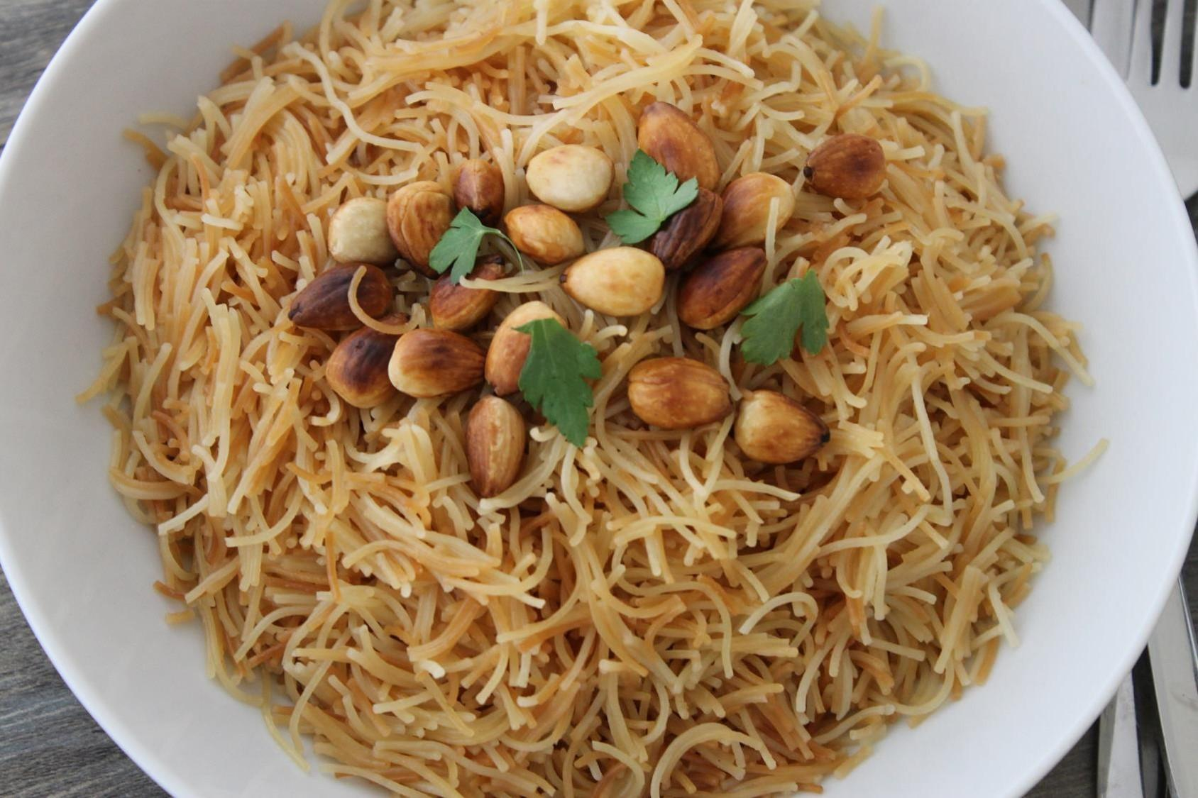 Vermicelli with Almonds