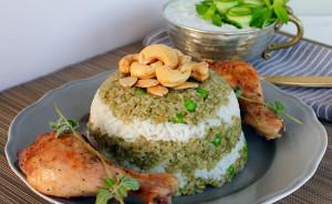 Nutritious Freekeh with Chicken Dish