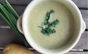Comforting Potato & Leek Soup