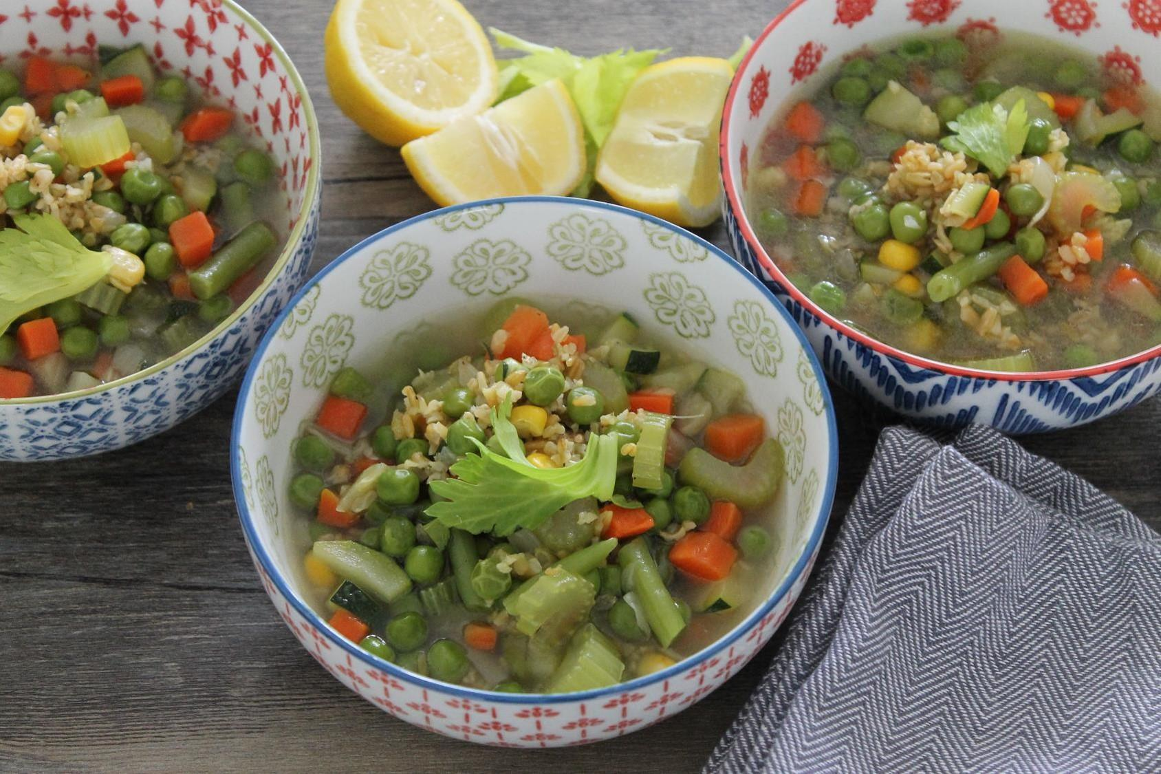 Freekeh Vegetable Soup
