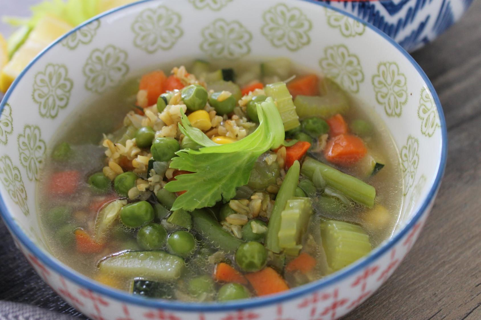 "freekeh vegetable soup""'"