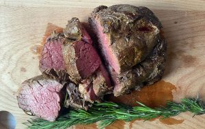 Mustard & Rosemary Roasted Beef Fillet