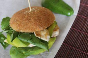 Gluten-Free Green Goodness Chicken Sandwich