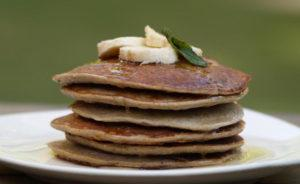 Wholewheat & Oats Fruity Pancakes