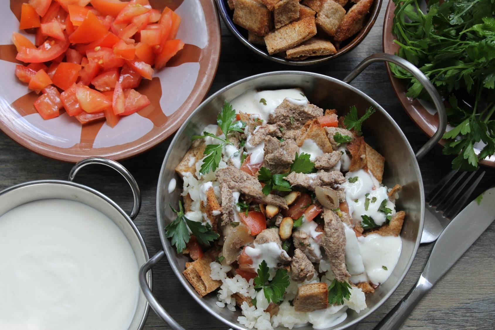 fatta-with-chicken-shawerma