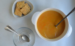 Everyday Carrot & Pumpkin Soup