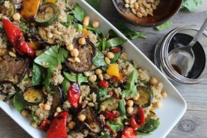 Mediterranean Vegetable Quinoa Salad