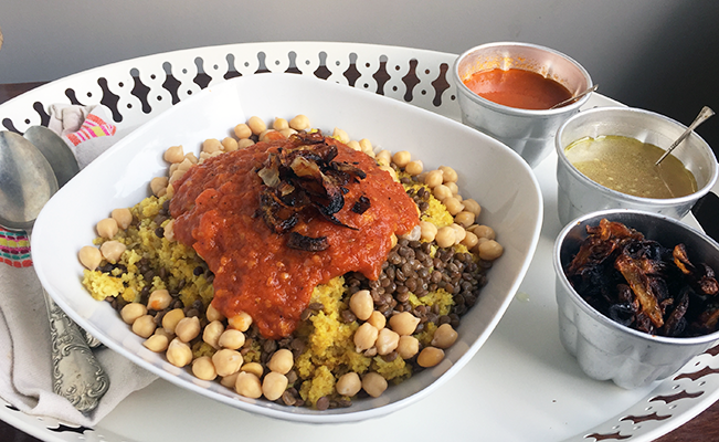 Good-for-You Bulgur Koshary