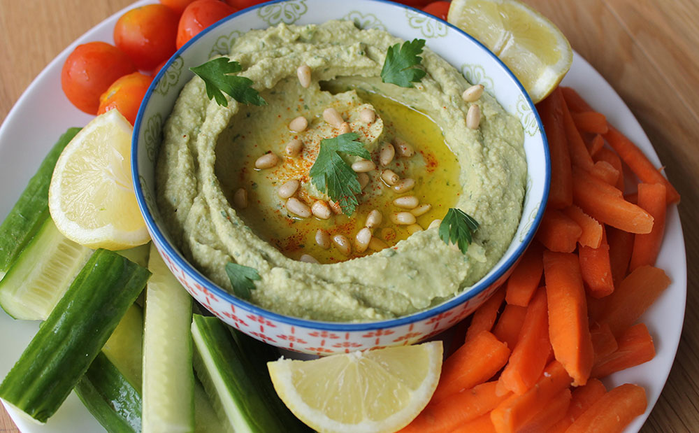 avocado-hummus