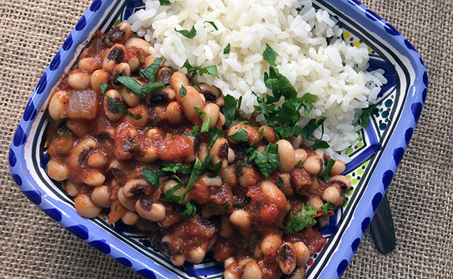 Black-Eyed Peas Stew