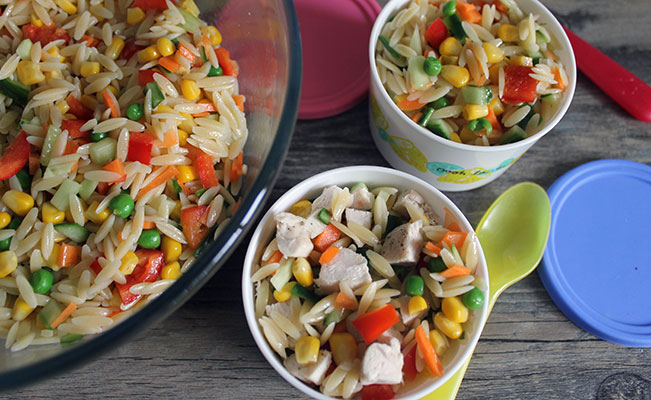 Orzo & Vegetables Salad